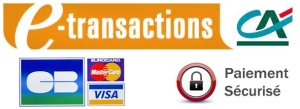 Paiements sécurisés par e-transactions du Crédit Agricole